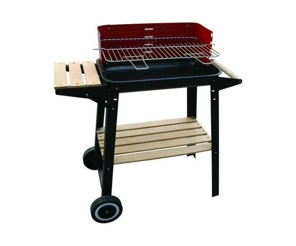 Barbecue Grill 48x29 cm BBQ WOODY-48