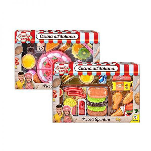 GRANDE CHEF - Gioco Set SET FAST FOOD
