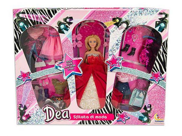 DEA - Bambola Fashion Sfilata di Moda 29 cm