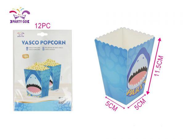 Box Porta Pop Corn Party Squalo