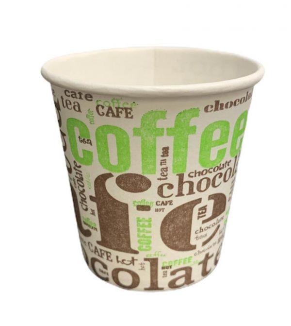 50 Bicchieri ca Caffè Compostabili 125 cl Biodegradabili