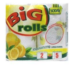 rotoli asciugatutto BIG  rolls lunga durata