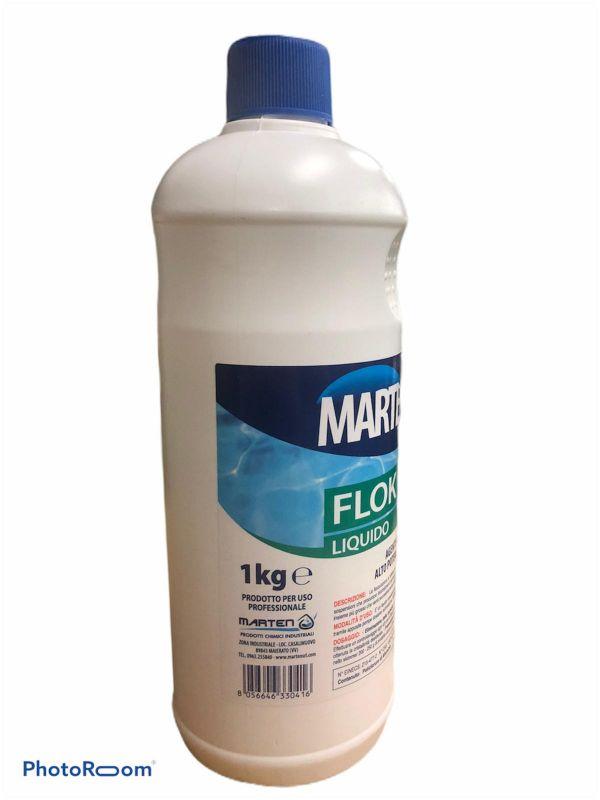 FLOK LIQUIDO  1kg - MARTEN POOL